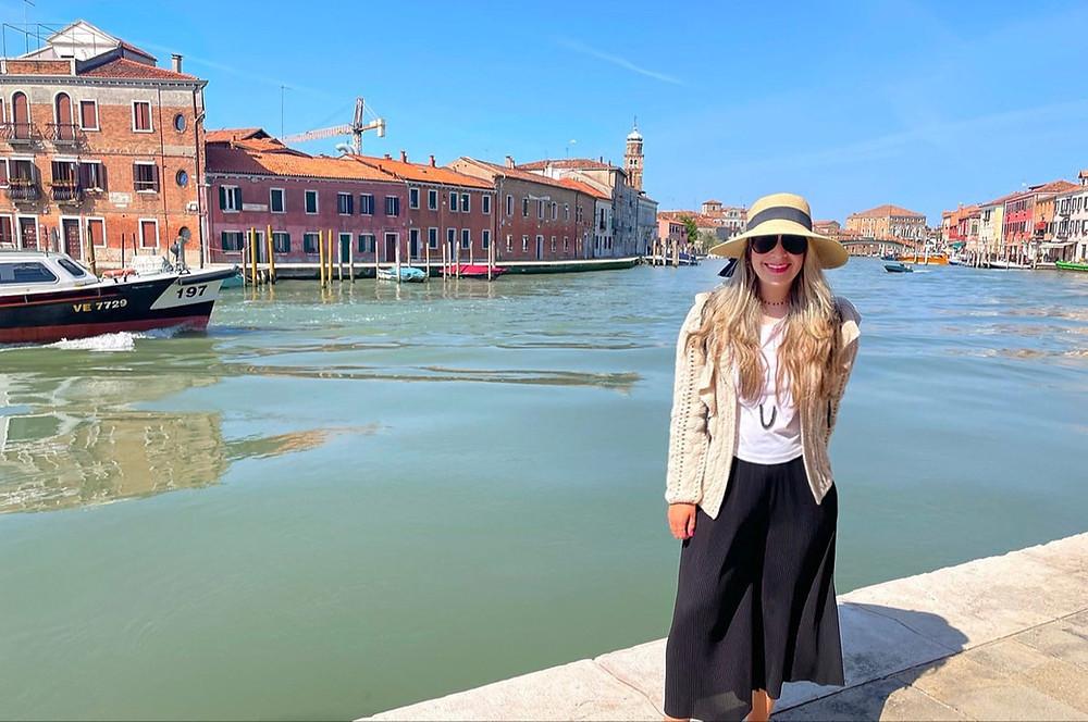 Visita a Murano, la Isla del Vidrio en Venecia.