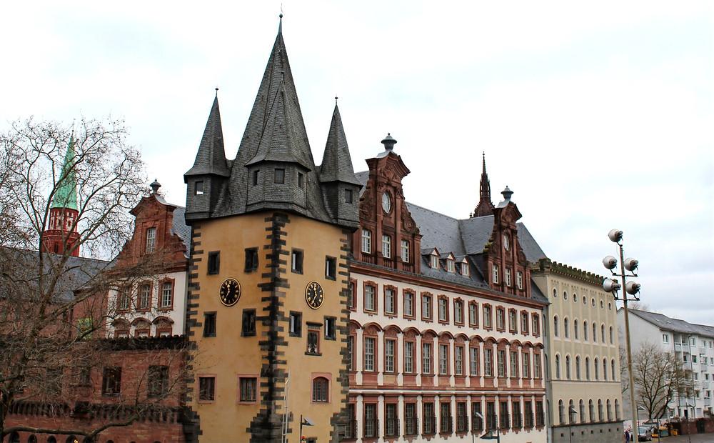 Frankfurt, el eje financiero más importante de toda Europa.