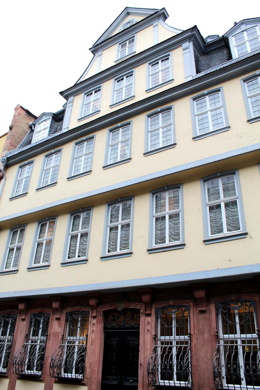 Casa-museo de Johan Wolfgang von Goethe en Frankfurt.