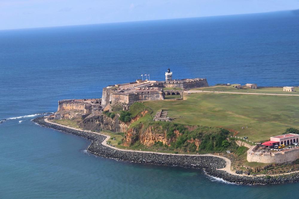 Castillo San Felipe del Morro en el Viejo San Juan, Puerto Rico.