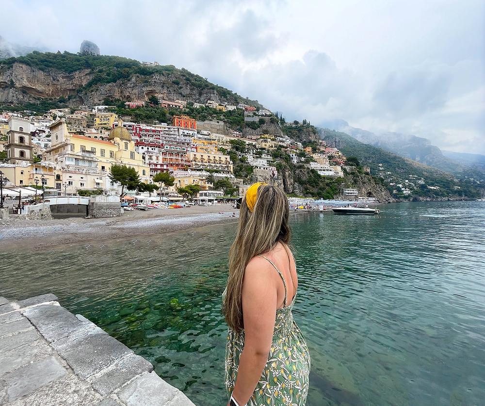 Descubriendo los encantos dea Positano, Italia.