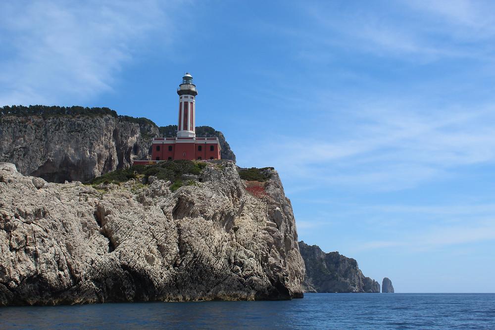 Anacapri en la Isla de Capri.