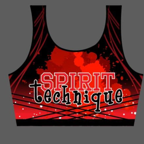 Paint Splatter | Spirit Technique | Bra Top