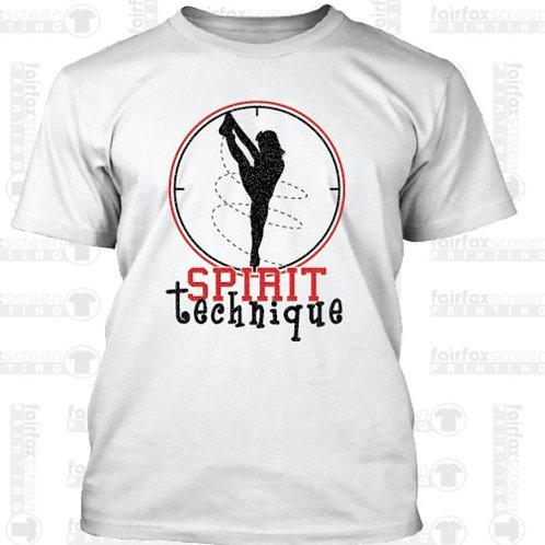 White | Spirit Technique | Glitter T-Shirt