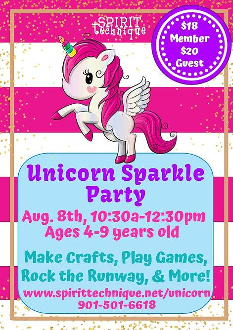 InkedUnicorn Sparkle Party (Super Saturd