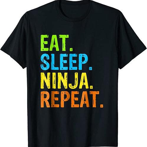 Eat. Sleep. Ninja. Repeat. T-shirt | June IOTM