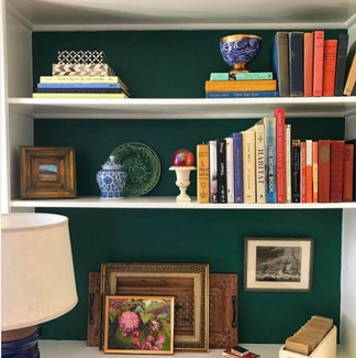 Have builtins? Paint the back an accent color.