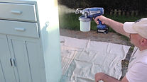 Graco TrueCoat - Spraying Furniture & Small Projects