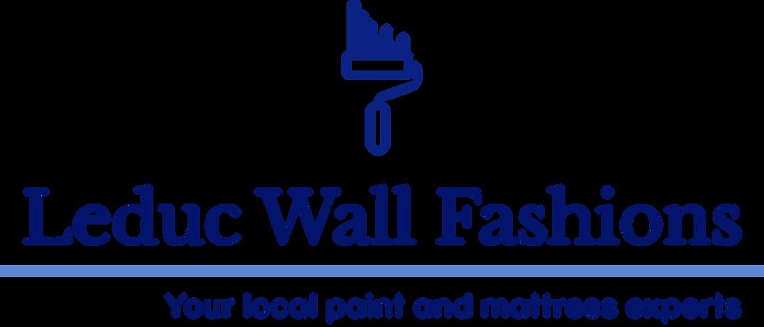 Leduc Wall Fashions; Benjamin Moore Paint; Mattress Mattress; your local paint and mattress experts; leduc alberta