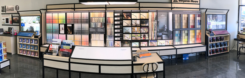 Come in and see our new expanded colour center.