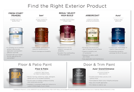 We have a huge range of exterior products