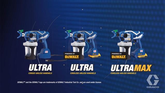 Graco's new line of professional grade handheld sprayers