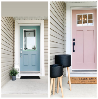 Great entrance makeover!