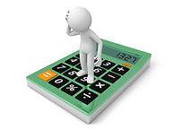 calculator-d-man-standing-thinking-30990