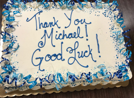 Thank you and good luck, Michael!