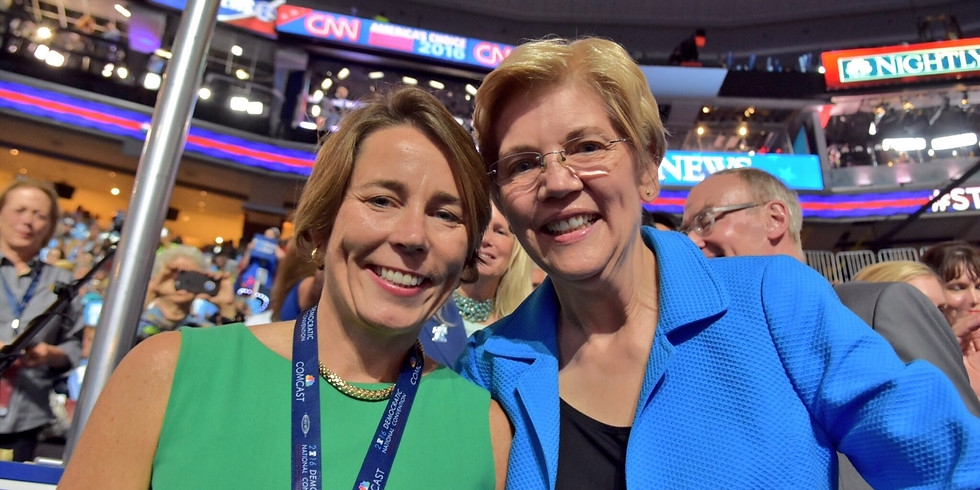 Canvass for Maura Healey, Elizabeth Warren, and a Democratic Governor