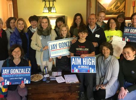 Jay Gonzalez for Governor!