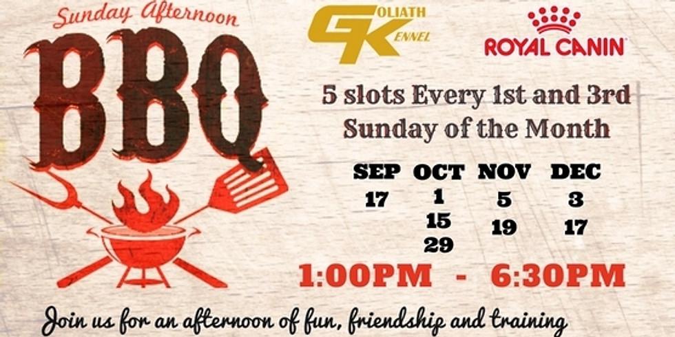 GK Sunday Afternoon BBQ (Nov 5)