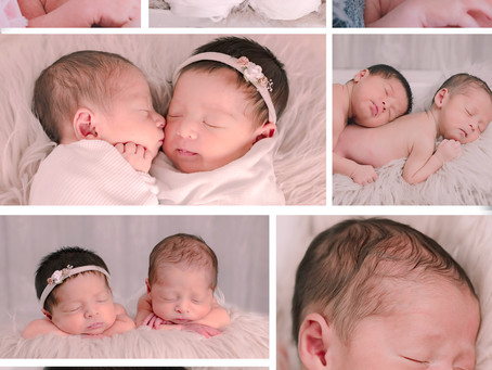 Grace & Owen Newborn