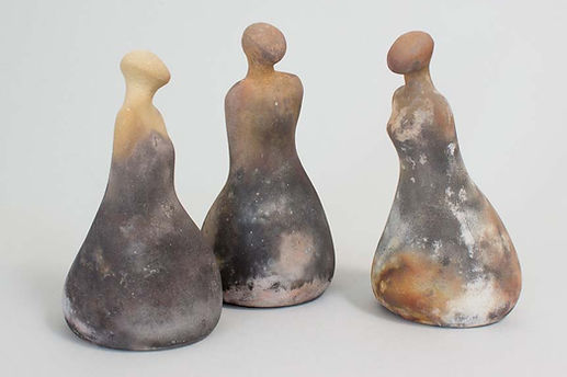 Hollis Hansen Santa Cruz Ceramic Sagger Fired Pottery