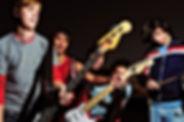 Junge Musik-Band