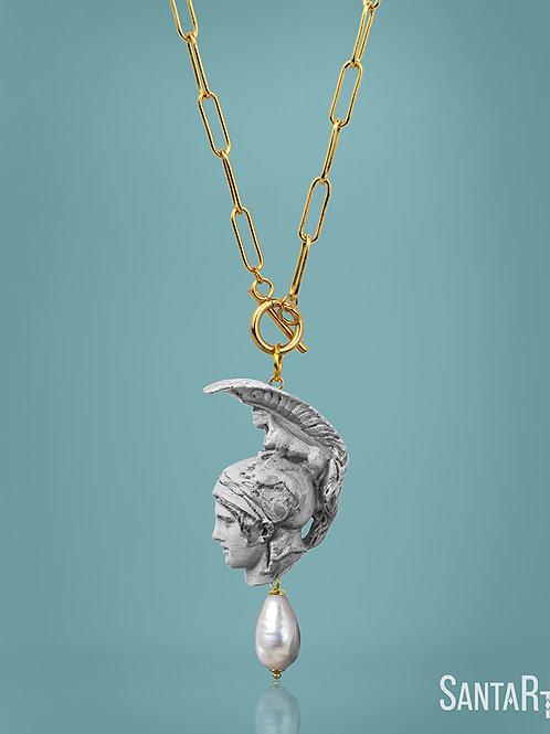 Collana Ares pietra
