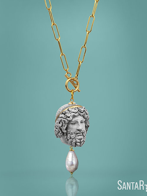 Collana Zeus pietra