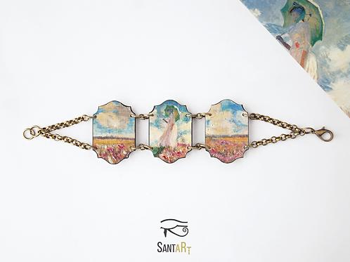 Bracciale 3 pezzi donna con parasole di Monet