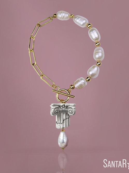 Bracciale Capitello perle