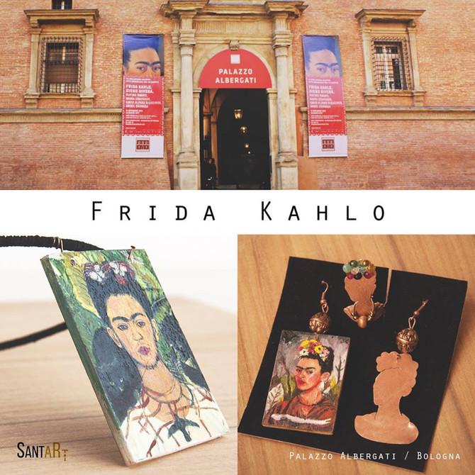 I gioielli Santart alla mostra di Frida Kahlo a Bologna