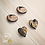 Thumbnail: Orecchini a lobo di Klimt