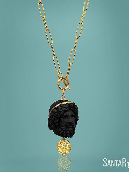 Copia di Collana Zeus pietra
