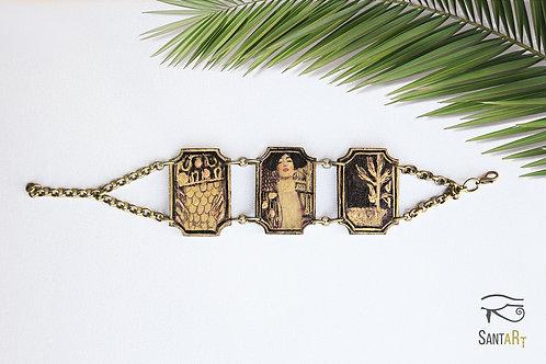 Bracciale 3 pezzi Giuditta di Klimt