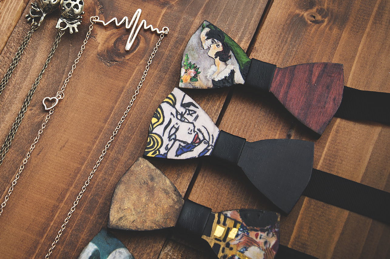 Papillon dipinti a mano
