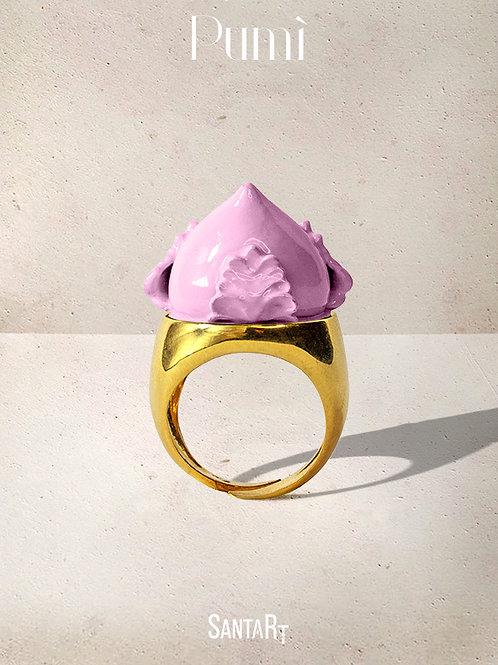Anello Pumo rosa