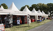 NORFOLK MARQUEE HIRE pagoda TRADE STAND.