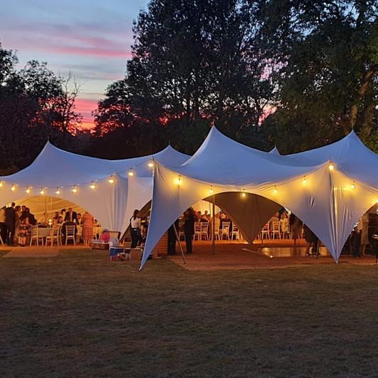 marquee hire norfolk capri stretch tent