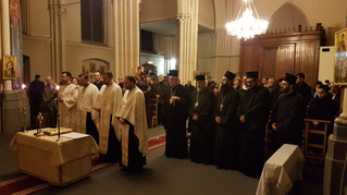 Prayer service for the success of the Romanian Presidency of the EU, in Brussels