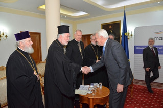 Bucharest: Delegates of Churches in Europe visit the Romanian Presidency of the EU