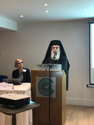 Two Primates of the Orthodox Churches underscoring the importance of protecting the Places of Worshi