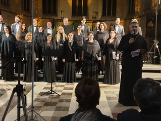 "The ""Nicolae Lungu"" Choir of the Romanian Patriarchate Concerted in Brussels"