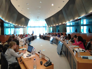 Presentations by Christian University Students from the Middle East and Africa at the European Parli
