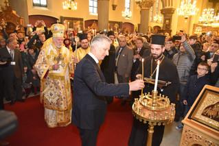 King Philippe of Belgium at the Celebration of the Sunday of Orthodoxy
