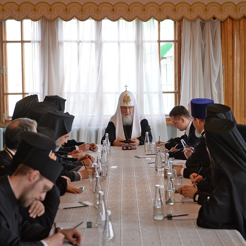 Meeting with HH Patriarch Kirill