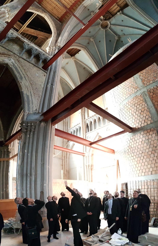 St. Nicholas Church-restoration work