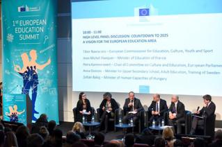 First European Education Summit in Brussels