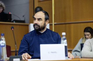 Rev Cristian Pavel on the Human Trafficking at the European Parliament