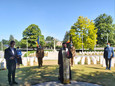 Mons, Belgium: Commemorative service for the Romanian soldiers