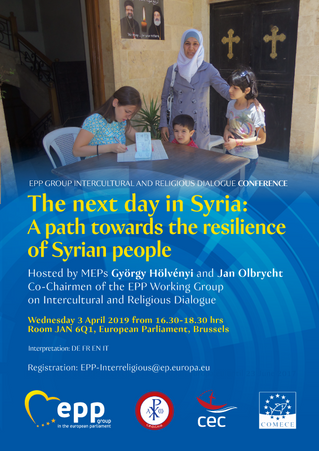 """""""This country needs much more than peace,"""" EP conference on Syria underscores"""