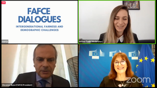 """""""Intergenerational fairness and demographic challenges"""" – FAFCE Dialogue with Dubravka Šuica"""